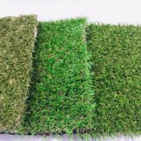 China Removable Recycled Artificial Grass Carpet Green Color Easy Installation Cesped on sale