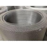China Heat Resistance SUS316 Stainless Steel Wire Mesh Sheets Twill Weave For Chemical Industry on sale