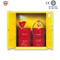 Best Steel Hazardous Chemical Drum Corrosive Storage Cabinet 3-point self-latching For Flammable Liquids wholesale