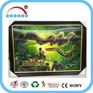 Best Competitive Advantage PET 3D Lenticular Poster UV Printing CMYK / Pantone Color wholesale