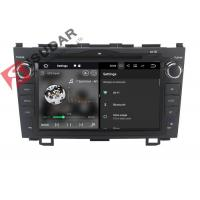 Best 8 Inch HD Screen Android Touch Screen Car Radio , HONDA CRV DVD Player Head Unit wholesale