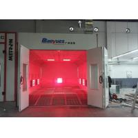 Best EPS Wall Infrared Spray Booth Auto Paint Room color Optional Eco Friendly wholesale