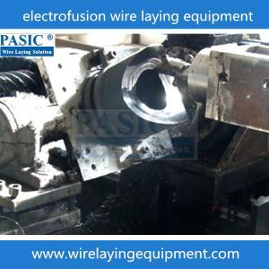 Best PASIC CNC electrofusion fittings pad;pe fittings wire laying machine for electrofusion pad wholesale