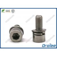 Best Stainless Steel Socket Head Cap SEMS Screw with Spring Washer & Flat Washer wholesale