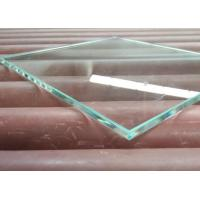 China Durable 10mm Toughened Safety Glass , Laminated Float Glass With Good Impact Resistance on sale
