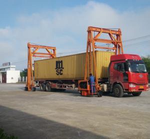 Best Different Lift Height Gantry Container Crane , Port Gantry Crane 40 Ton Loading Capacity wholesale