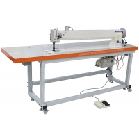 China Long Arm DP17 240V Three Synchronou Double Needle Sewing Machine on sale