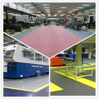 China PVC Outdoor Interlocking Plastic Floor Tiles For Workshop on sale