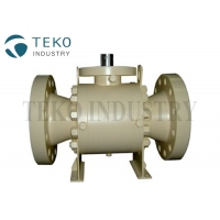 Buy cheap Class 2500 Trunnion Ball Valve With Self Relieving Vent from wholesalers
