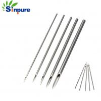 China Eco - Friendly Medical Hollow Needle Oem Custom Stainless Steel 304 Chiba Tip on sale
