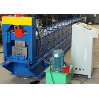 Best U Profiles Steel Downspout Forming Machine / Gutter Cold Roll Forming Machine wholesale