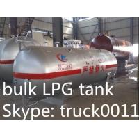 Best small mini  4tons propane gas storage tank for sale, CLW brand best price4,000kg surface lpg gas storage tank for sale wholesale
