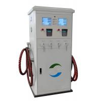 China Two Noozle CNG Dispenser For Compressed Natural Gas Filling Station Low Outlet Pressure on sale
