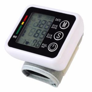 Best Digital pulse wrist Blood Pressure Monitors meters tonometer pulsometro sphygmomanometer wholesale