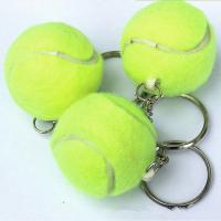 Best real tennis ball keychain wholesale