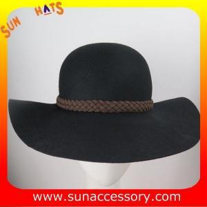 Best 2272 Sun Accessory customized fashion winter wool felt floppy hats  ,unisex hats and caps wholesaling wholesale