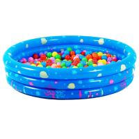 Best Baby PVC Inflatable Swimming Pool Sea Life 3-ring Pool wholesale