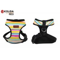 Buy cheap Reflective Adjustable Dog Walking Harness Nylon Material Rainbow Color H508 from wholesalers