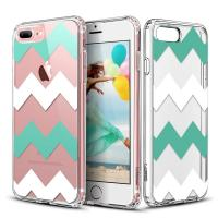 Buy cheap Chevrons Clear Hard Apple Cell Phone Cases Back Panel Integrated Soft TPU Bumper product