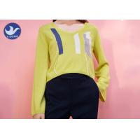 Long Sleeves Crew Neck Sweater Womens Embroidered Spring Clothing Multi Size