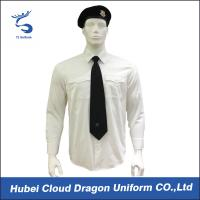 Best Wrinkle Resistant Security Polo Shirts / Security Officer Shirts For Company Guard wholesale