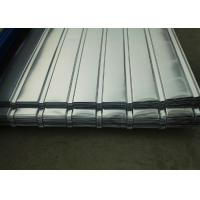 Best Corrugated Galvanized Steel Sheets , Corrugated Roofing Sheets For Construction Roof wholesale