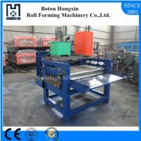 Best Hydraulic Pump Cold Roll Forming Machine 1250mm Raw Material Width wholesale