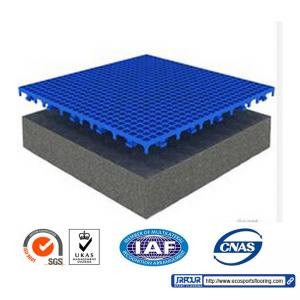 China IAF Interlocking Sports Tiles on sale