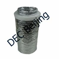 Best R1.0 30mm polyester insulation flexible air duct 4''x25ft insulated flexible aluminum air duct wholesale