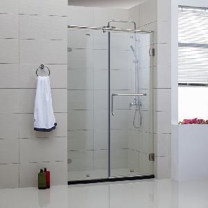 Best Frameless Hinge Shower Door (WLP-002) wholesale