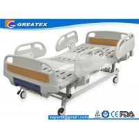 Best GT-BM5207 Two Crank Medical Manual Hospital Bed Foldable ABS Handrails 2 Functions wholesale