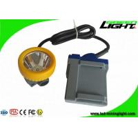 Best Underground Safety LED Mining Lights 6.6Ah Rechargeable Battery 15000lux Headlamp wholesale