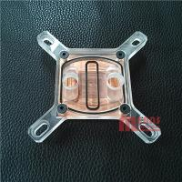 Best Intel CPU Water block,Radiator,MS-046-AC,Acrylic/Red copper.Rohs wholesale