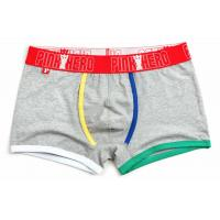 Best Fashion High Rise Boxer Briefs , High Stretch Mens Cotton Boxer Shorts wholesale