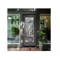Best Antique Decorative Panel Glass , Solid Flat Tempered Glass Panels For Building wholesale