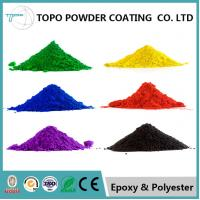 Metal Furniture Epoxy Polyester Powder Coating RAL 1001 Color Smooth Finishing