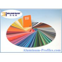 Best Best Quality Powder Coating Aluminum Profiles with RAL Color wholesale