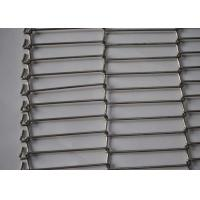 Best SS Balanced Weave Belt , Spiral Wire Metal Mesh Belt For Food Conveyor wholesale