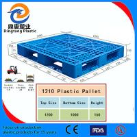 Best Black Color High Quality Nestable Plastic Pallet for Sale wholesale