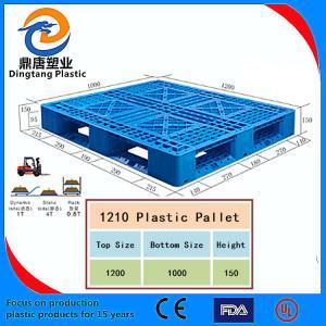 Best Black Color High Quality Nestable Plastic Pallet for Sale wholesale