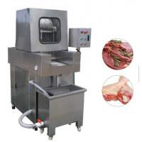 Best Stainless Steel Chicken Meat Processing Machine Brine Injection 4.1kw Power wholesale