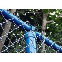 Best PVC Coated Wire Mesh FencingFlexible Chain Link Fence For Security And Protection wholesale