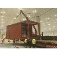 Best Portable Light Steel Structure Prefab Mobile Homes Wooden Appearance wholesale