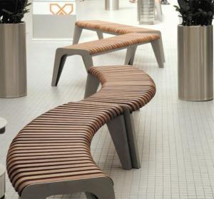 China Powder Coating Anticorrosion Cast Iron And Wood Garden Bench on sale
