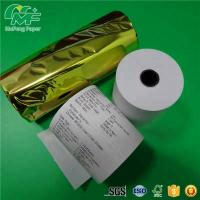Best 52GSM POS Thermal Printer Rolls , Eco - Friendly 3 Thermal Paper Roll 31/8*200 FT wholesale