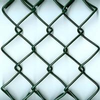Best 50mm with 2.8mm wire guage PVC Chain Link Fence/PVC Chain Link Wire Mesh wholesale