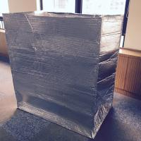 China Thmeral insulated cargo covers,pallet cover bag thermal insulation pallet cover on sale