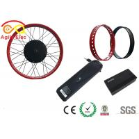 Buy cheap 26 Inch Electric Bike Conversion Kit , Stress Relief Electric Fat Tire Bike Kit product