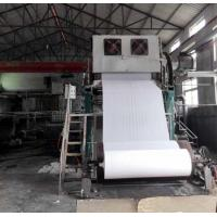 Best 1092mm Small toilet paper making machine price 2-3TPD tissue paper processing line wholesale