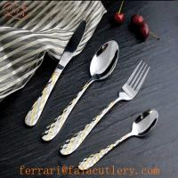 Best Mainstays Gift Packing Atlanta Table Cutlery Gold wholesale